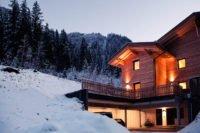Eingangsbereich Haus Wald, Winter