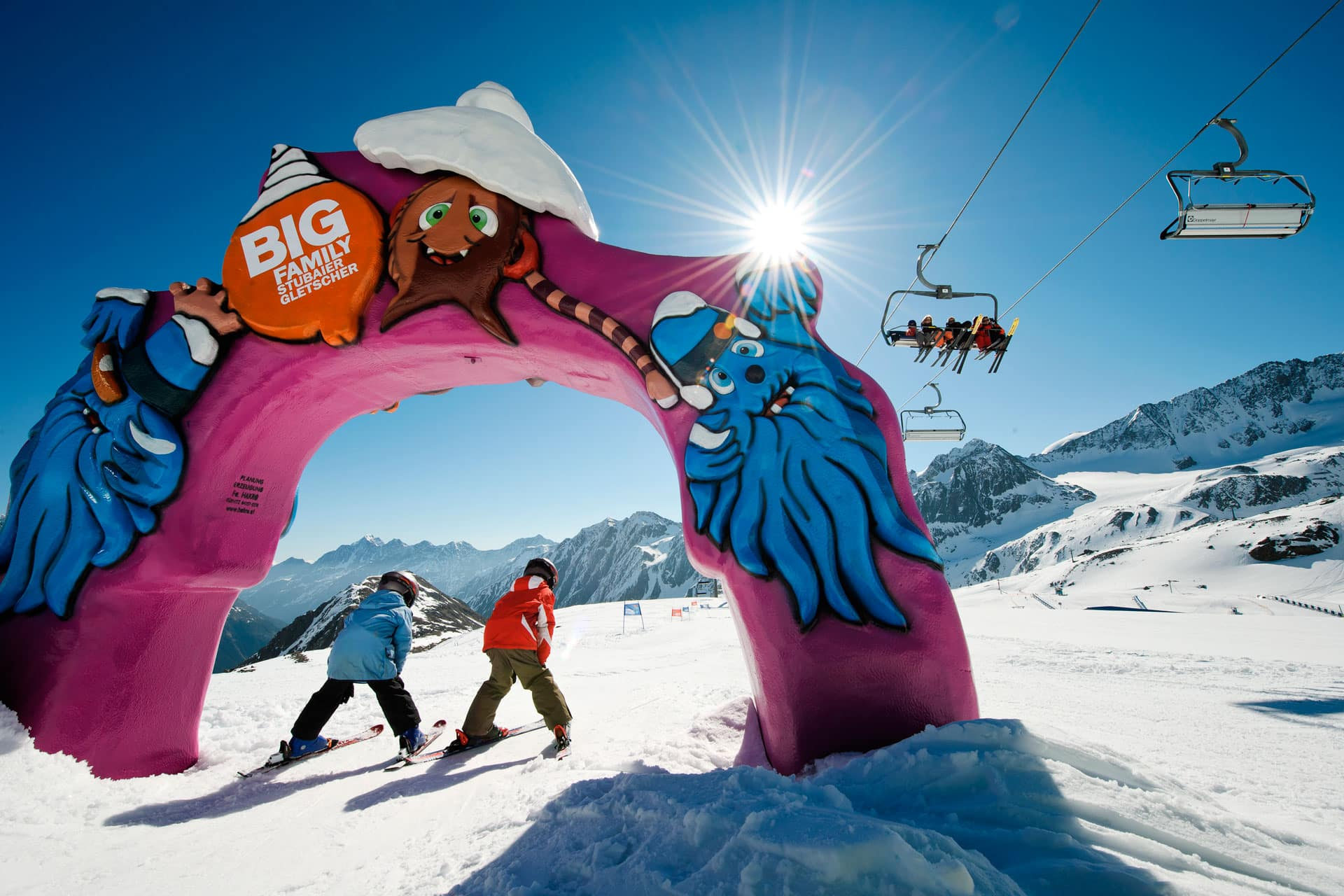 Spaß und Action im Big Family Winter Camp