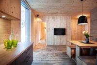 Ferienhaus Wald, Eingangsbereich Küche