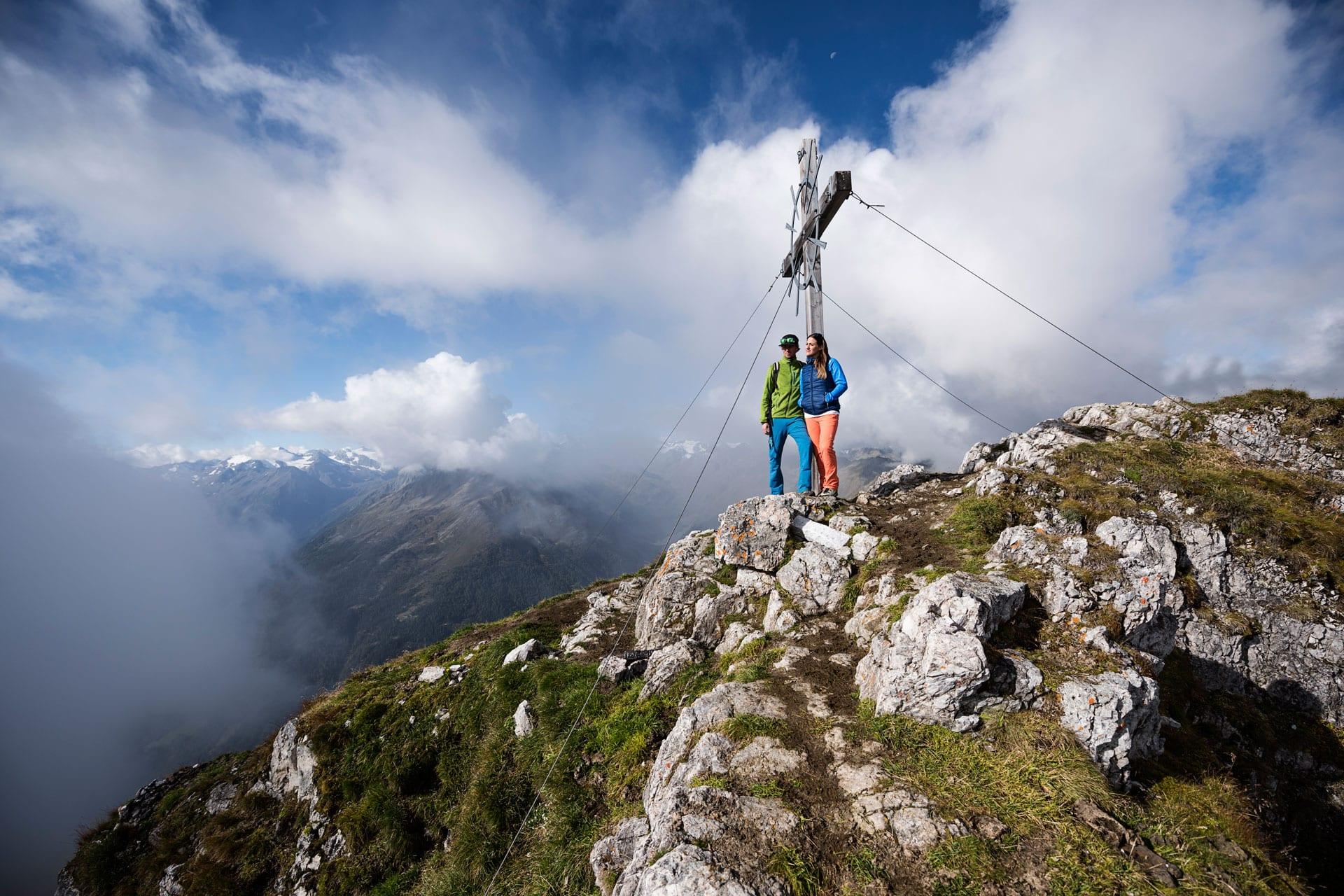 Gipfel besteigen im Stubaital